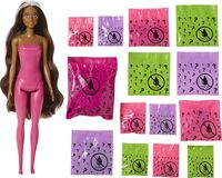 Barbie - Mattel - Barbie Ultimate Color Reveal Fantasy Fashion Unicorn, One Surprise Color Reveal with Each Transaction
