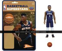 NBA Reaction Figure - Zion Williamson (Pelicans) - Super7 - NBA ReAction Figure - Zion Williamson (Pelicans)
