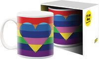 Pride Heart 11Oz Boxed Mug - Pride Heart 11oz Boxed Mug