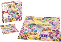 Polly Pocket - Mattel Games - Polly Pocket Dollhouse 500 Piece Puzzle