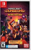 Swi Minecraft Dungeons Hero Edition - Minecraft Dungeons Hero Edition for Nintendo Switch