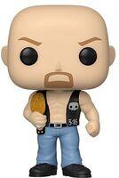 Funko Pop! WWE: - FUNKO POP! WWE: SC Steve Austin w/Belt