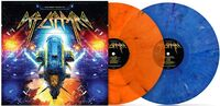 Many Faces Of Def Leppard / Various - Many Faces Of Def Leppard / Various (Ltd Double Gatefold 180gm Blue & Orange Marble Vinyl)