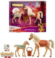 Spirit - Mattel - Spirit Mom & Baby Horse Playset