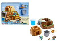 Minecraft - Mattel Collectible - Minecraft Mini Mining Playset
