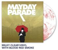 Mayday Parade - A Lesson In Romantics [Limited Edition Milky Clear W/ Red Smoke LP]