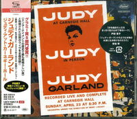Judy Garland - Judy At Carnegie Hall (Live) (Shm) (Jpn)