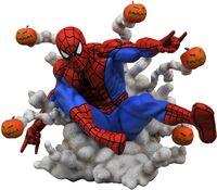 Diamond Select - Diamond Select - Marvel Gallery Pumpkin Bomb Spider-Man PVC Statue