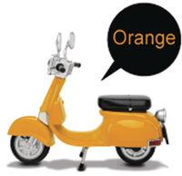 Beast Kingdom - Beast Kingdom - EAA-A03O Motorbike Classic Style Figure Acc OrangeVersion