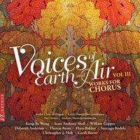 Bakker / Vox Futura / Shenton - Voices Of Earth & Air 3