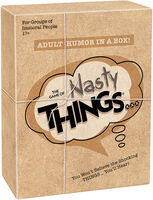Game of Nasty Things Adult Humor in a Box - The Game Of Nasty Things You Wont Believe The Shocking Things You'll Hear Adult Humor In A Box
