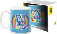 Pride Can't Think 11Oz Boxed Mug - Pride Can't Think 11oz Boxed Mug