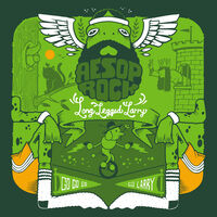 "Aesop Rock - Long Legged Larry (Green 7"") [Colored Vinyl] (Grn)"