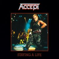 Accept - Staying A Life (Blk) [180 Gram] (Hol)