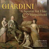 Giardini / Conserto Musico - 6 Sonatas For Flute