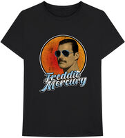 Freddie Mercury - Freddie Mercury Script Black Unisex Short Sleeve T-shirt 2XL