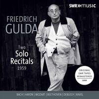 FRIEDRICH GULDA - Two Solo Recitals 1959