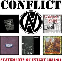 Conflict - Statements Of Intent 1988-1994