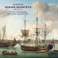 London Haydn Quartet - HAYDN: String Quartets 71 & 74