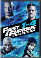 The Fast & The Furious [Movie] - Fast & Furious Collection: 1-4