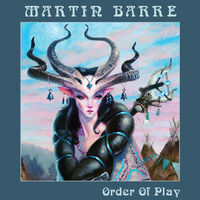 Martin Barre - Order Of Play (Blue)