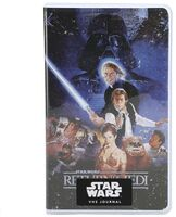 Star Wars Return Of Jedi Vhs Replica Journal - Star Wars Return Of Jedi Vhs Replica Journal