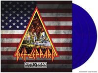Def Leppard - Hits Vegas - Live At Planet Hollywood [Limited Edition Translucent Blue 3LP]