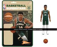NBA Reaction Figure - Giannis Antetokoumpo (Bucks) - Super7 - NBA ReAction Figure - Giannis Antetokoumpo (Bucks)