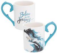 Disney Frozen 2 Elsa 14 Oz. Sculpted Ceramic Mug - Disney Frozen 2 Elsa 14 Oz. Sculpted Ceramic Mug