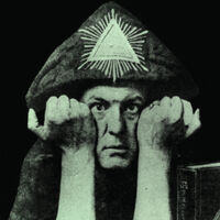 Aleister Crowley - The Black Magick Masters - Limited Edition Glow In The Dark Vinyl