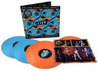 The Rolling Stones - Steel Wheels Live: Live From Atlantic City, NJ, 1989 [Tangerine/Sky Blue 4LP]