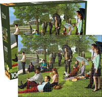The Office Sunday Afternoon 1000 PC Puzzle - The Office Sunday Afternoon 1000 Pc Puzzle