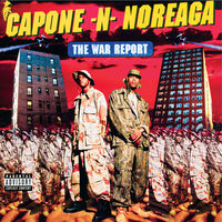 Capone-N-Noreaga - The War Report (Clear Vinyl with Red & Blue Splatter Vinyl)