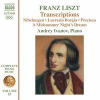 Liszt / Ivanov - Complete Piano Music 55