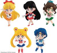 Bandai - Bandai - Pretty Guardian Sailor Moon - Chibi Masters Pretty GuardianSailor Moon