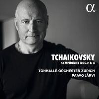 Tchaikovsky / Tonhalle-Orchester Zurich / Jarvi - Symphonies 2 & 4