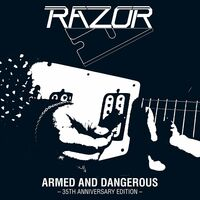 Razor - Armed & Dangerous - 35th Anniversary [Clear Vinyl] [Limited Edition]