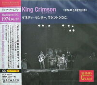 King Crimson - 1974-06-27 Kennedy Centre Washington Dc (Jpn)