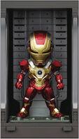 Beast Kingdom - Beast Kingdom - Iron Man 3 MEA-022 Iron Man Mk XVII With Hall Of ArmorFigure