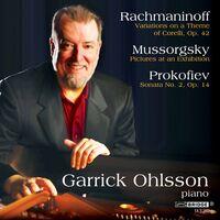 GARRICK OHLSSON - Rachmaninoff & Prokofiev Played By Garrick Ohlsson