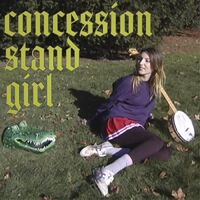 Naomi Alligator - Concession Stand Girl [Colored Vinyl] (Red) [Download Included]
