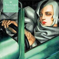 Flame Tree Studio - Adult Jigsaw Puzzle Tamara de Lempicka: Tamara in the Green Bugatti,1929: 1000-piece Jigsaw Puzzle