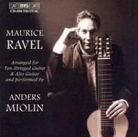 Anders Miolin - Arrangements for Ten-Stringed Guitar & Alto Guitar