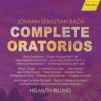 J Bach S - Complete Oratorios (Box) (4pk)