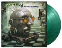 Govt Mule - Life Before Insanity [Limited Gatefold, 180-Gram Green & Black Swirl Colored Vinyl]