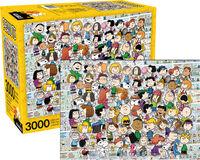 Peanuts Cast 3000 PC Puzzle - Peanuts Cast 3000 Pc Puzzle