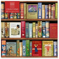 Flame Tree Studio - Adult Jigsaw Puzzle Bodleian Libraries: A Reader's Delight: 500-pieceJigsaw Puzzle