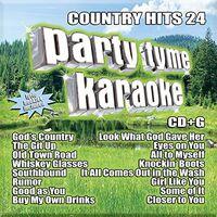 Party Tyme Karaoke - Party Tyme Karaoke: Country Hits 24 (Various Artists)
