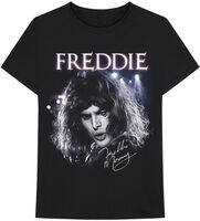 Freddie Mercury - Freddie Mercury Signature Black Unisex Short Sleeve T-shirt 2XL