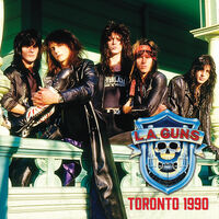 L.A. Guns - Toronto 1990 [Red & Blue LP]